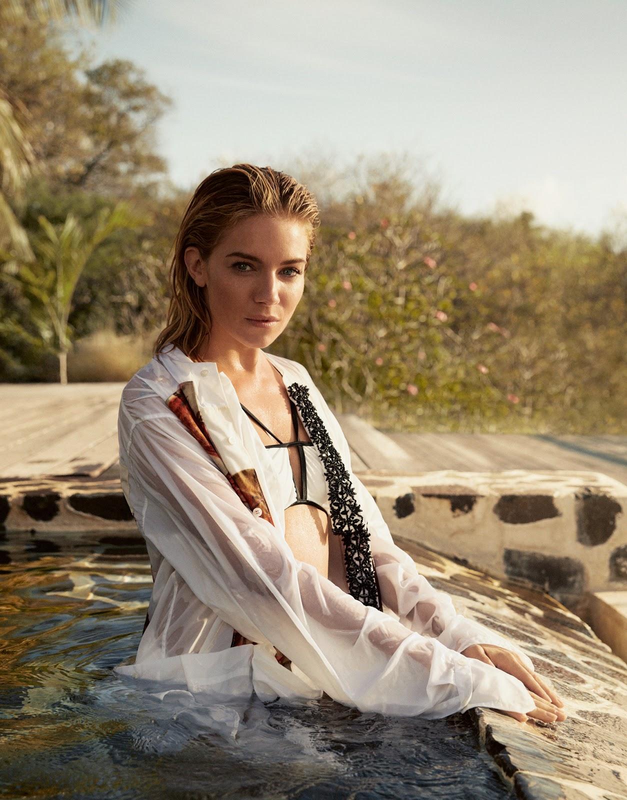 Sienna Miller in Porter Magazine Summer Escape #15 2016 by ...
