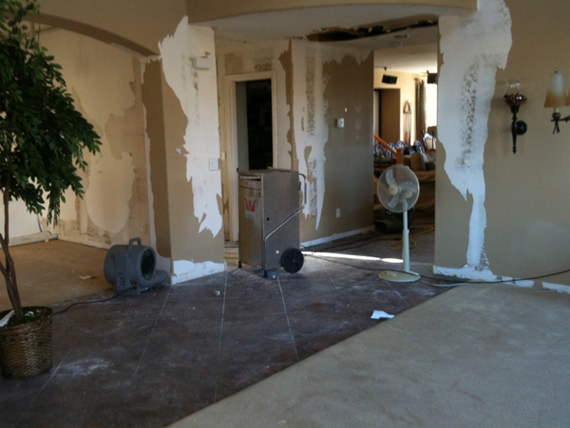 Water Damage Restoration Houston, TX – Process Explained