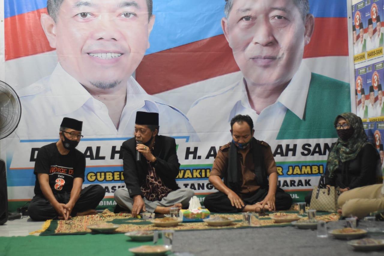 Silaturahmi ke Alam Barajo, Abdullah Sani Ajak Jauhi Kampanye Negatif
