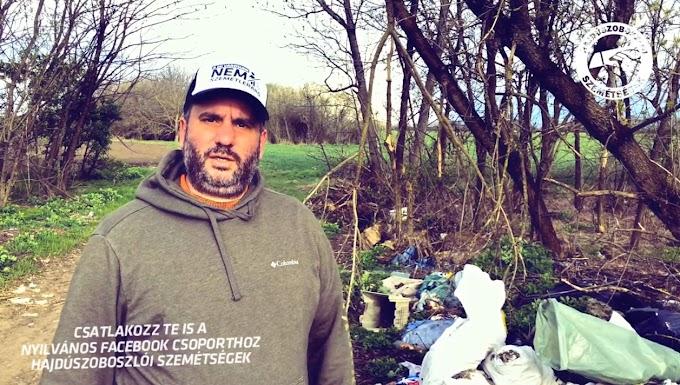 Szemétládák szemetelnek Hajdúszoboszlón: kiborult a város alpolgármestere