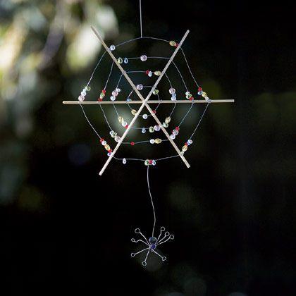 Beaded Spiderweb