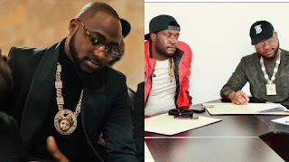 Davido Signs New Artiste
