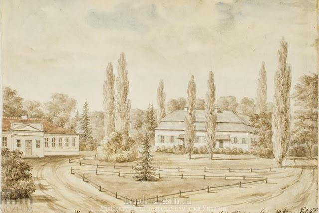 Dawny pałac Platerów, Worobin - Dąbrowica, Napoleon Orda