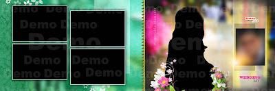 karizma album psd template