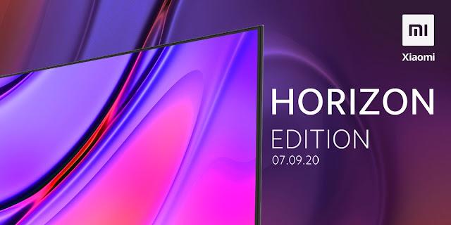 Xiaomi Mi TV Horizon Edition lançada a 7 de setembro na India
