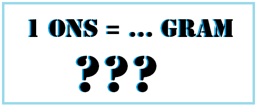 1 Ons Berapa Gram? Jawaban, Konversi dan Contoh Soal