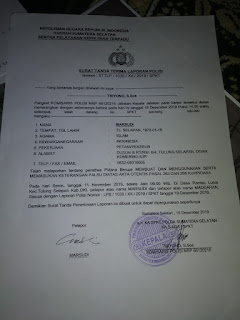 Diduga Gunakan Ijazah Palsu, Kades Terpilih Dilaporkan ke Mapolda Sumsel