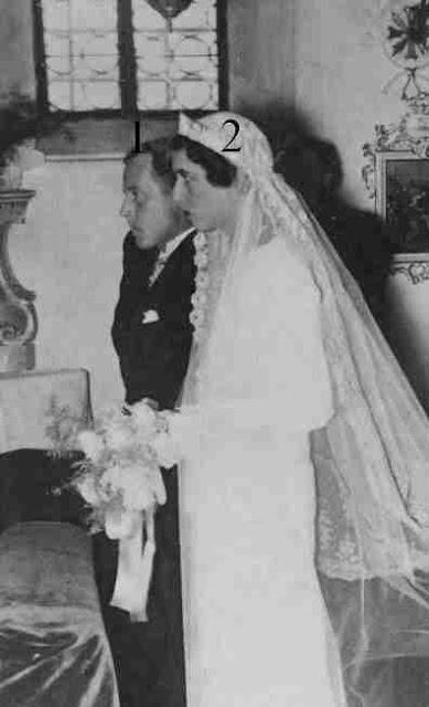 mariage princier en Allemagne.