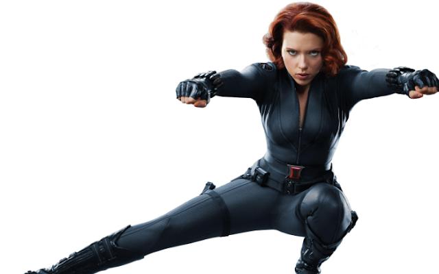 Black Widow HD Wallpaper