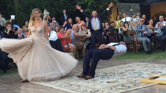 Drunk History Magic Wedding Dance