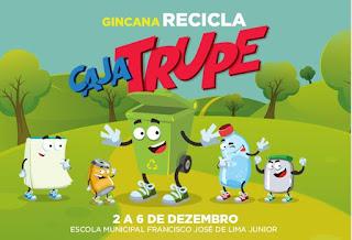 Escola Municipal lança gincana Recicla Cajatrupe
