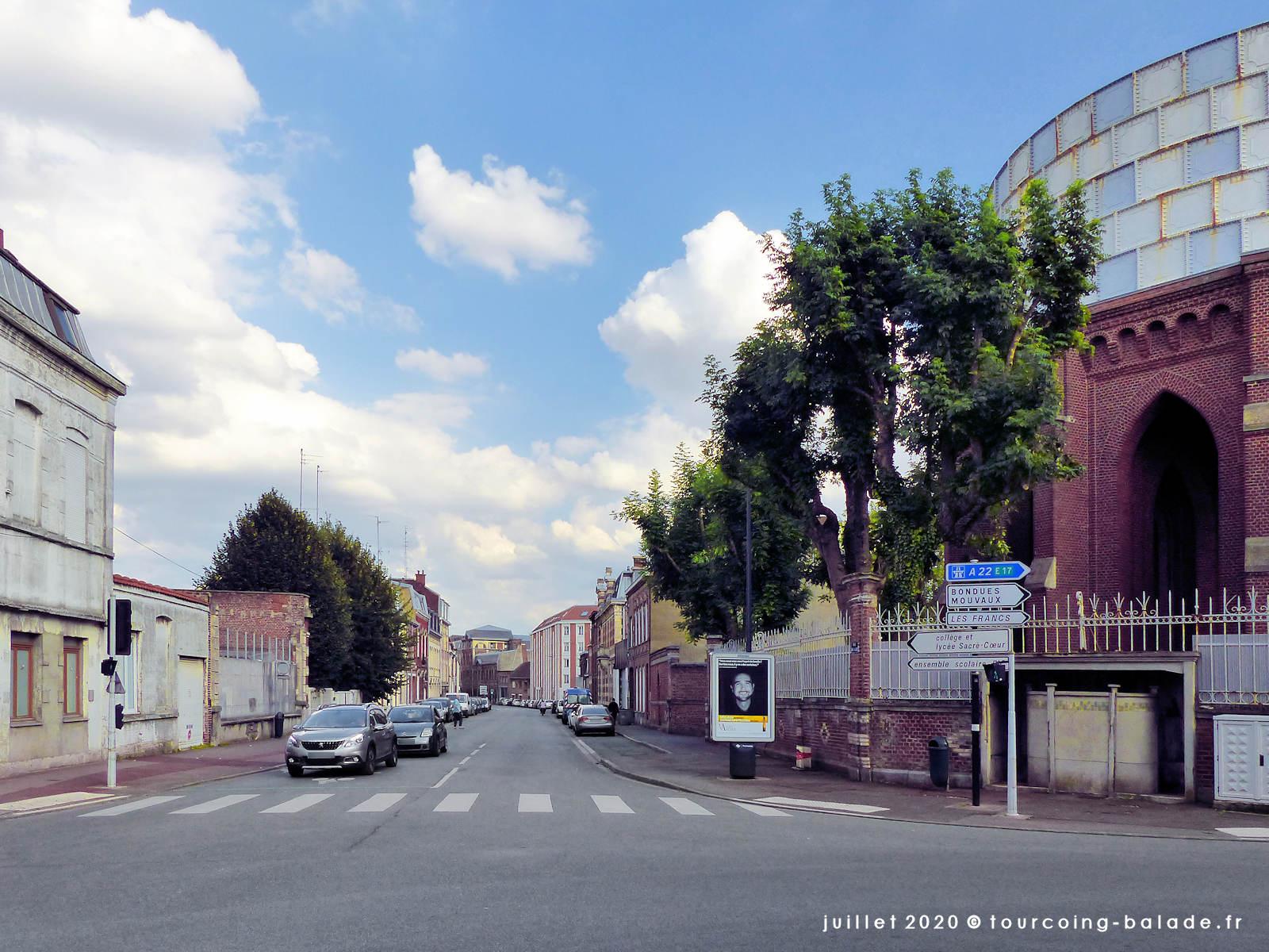Rue de Lille, Tourcoing 2020