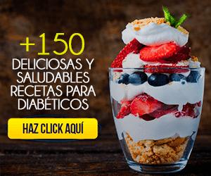 Postres saludables para diabéticos