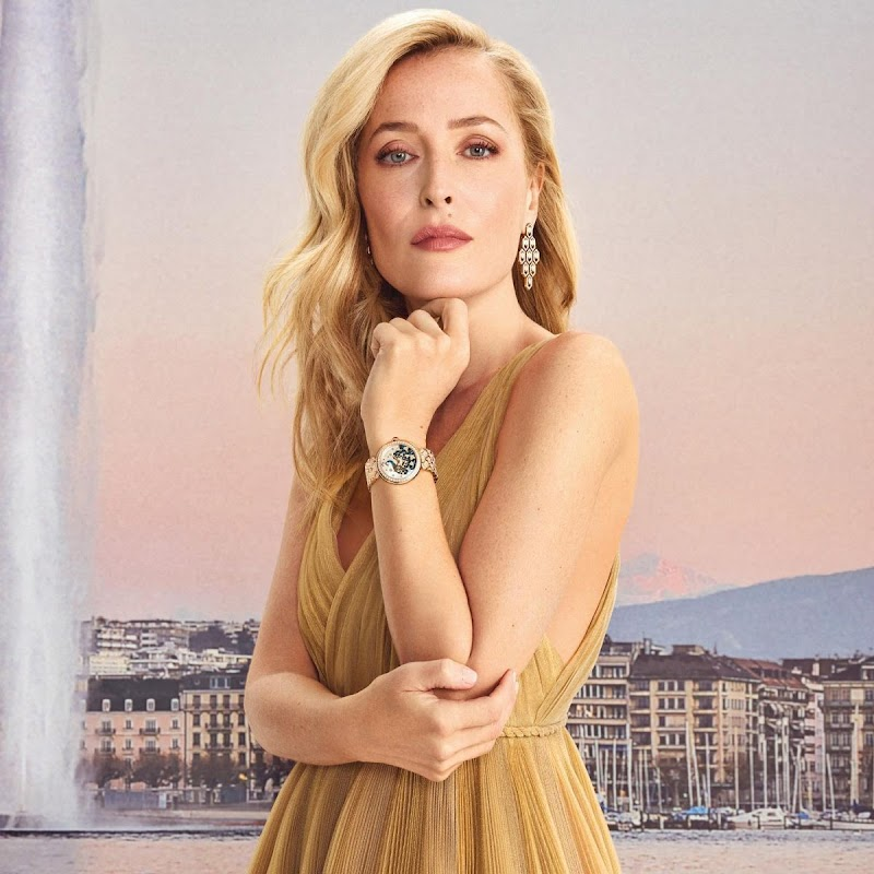 Gillian Anderson for Vanity Fair - On Time Geneva issue, Spring 2021