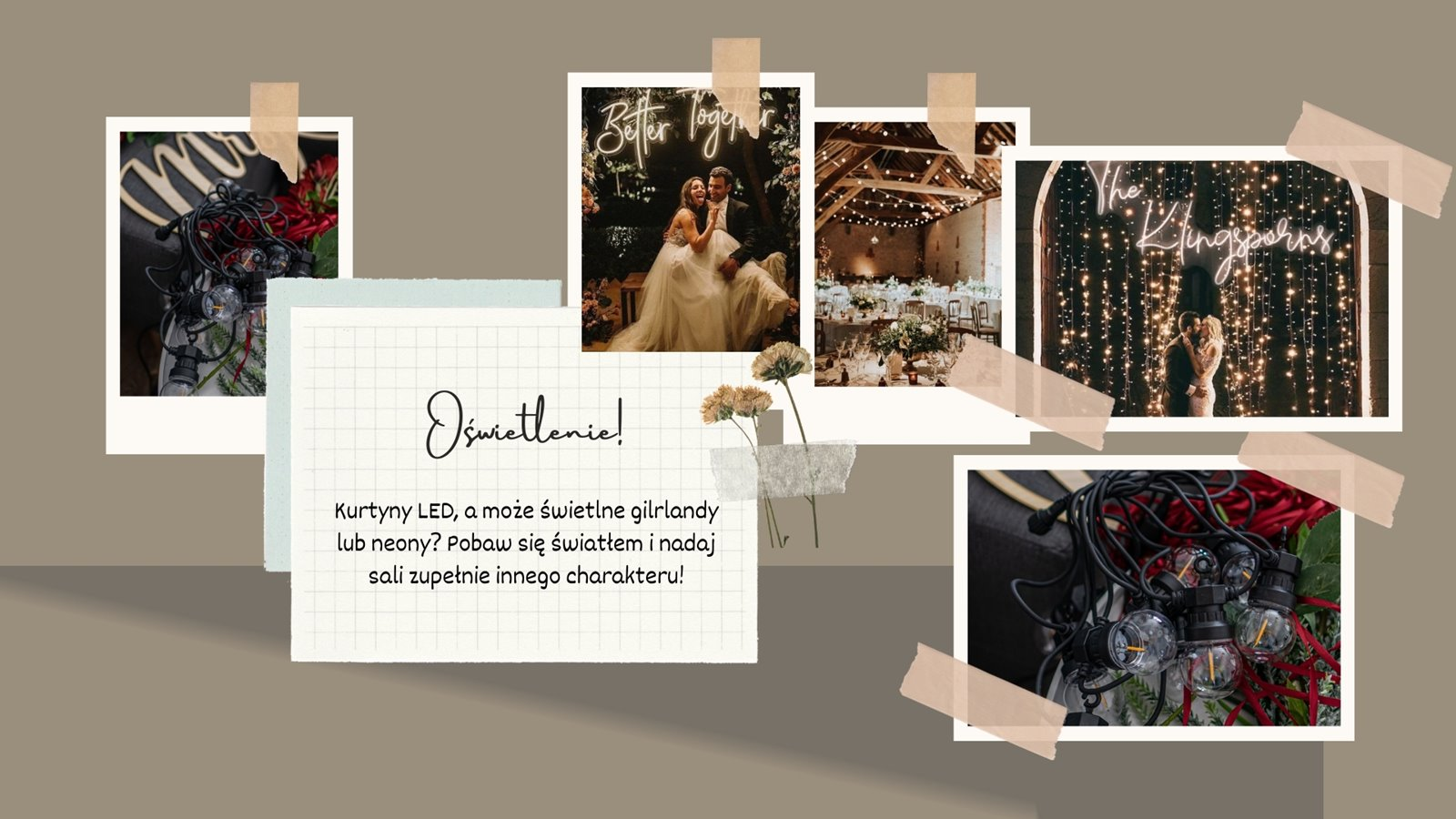 4 girlandy weselne diy dekoracje slubne za grosze jak zaoszczedzic na dekoracjach sali weselnej happenings diy