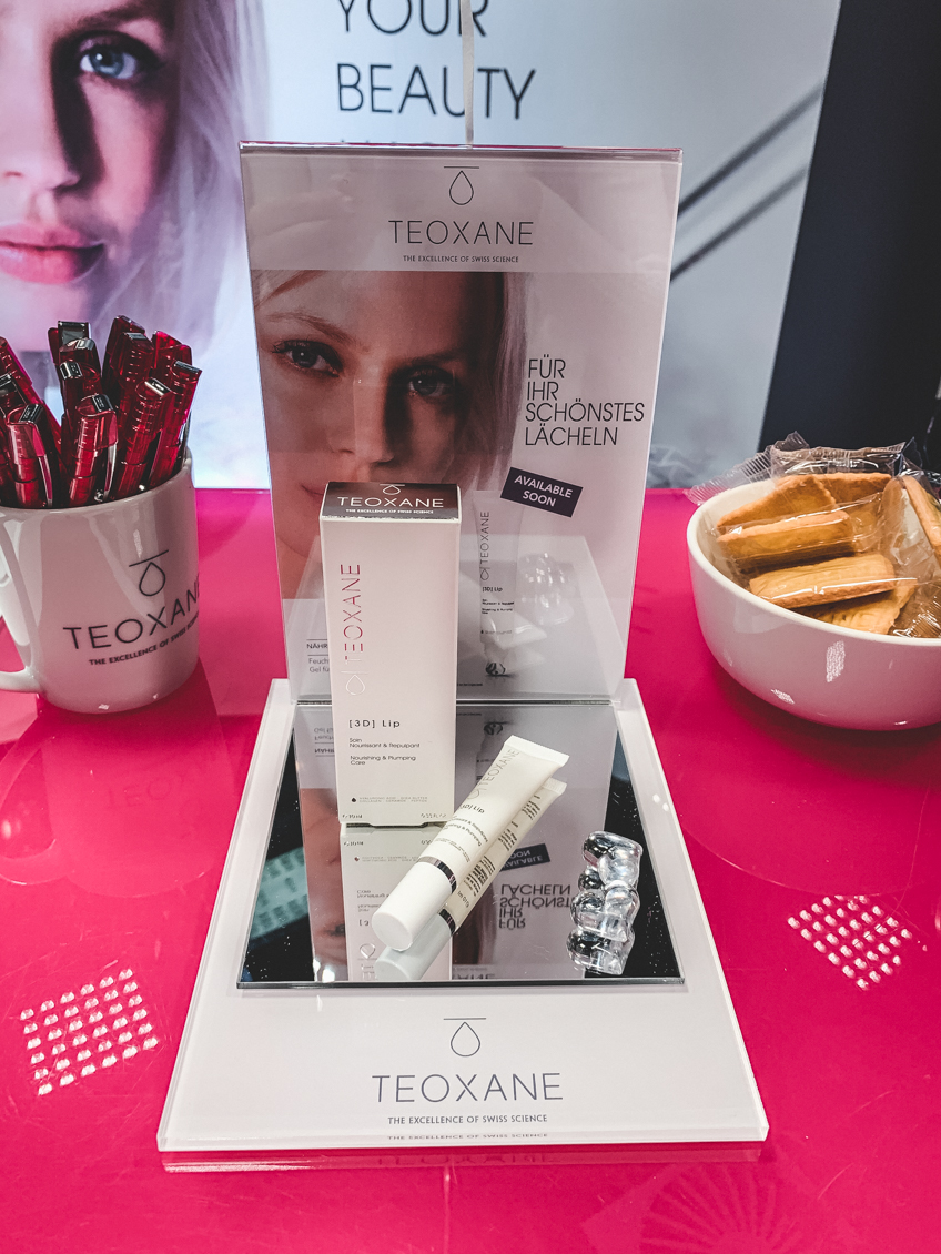 beautypress Blogger Social Media Event Oktober 2019 Teoxane 3D Lip Lippenfplege Hyaluron