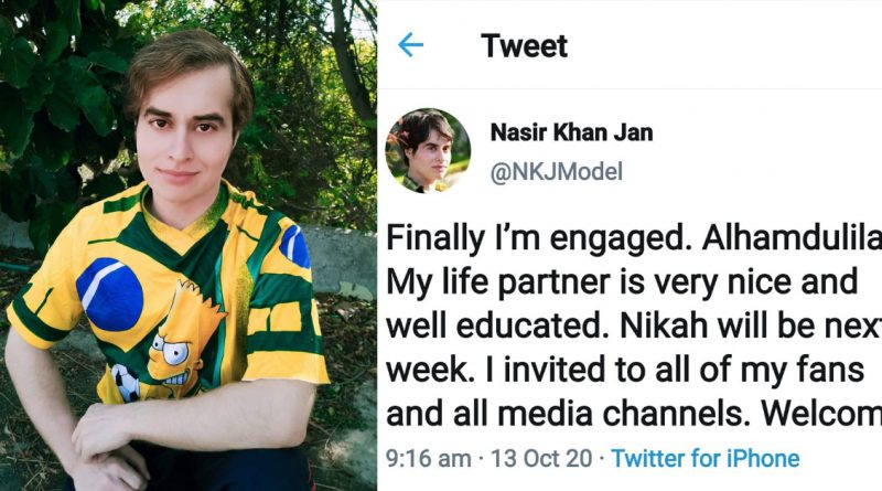 Pakistani viral sensation Nasir Khan Jan Engagement gets Funny Reactions