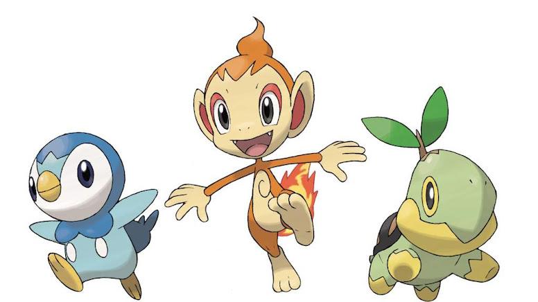 Pokémon Diamond Pearl Iniciais