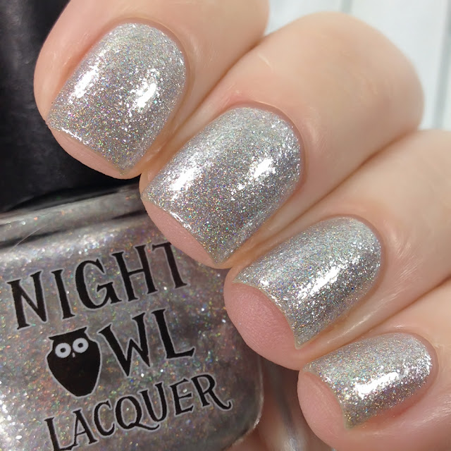 Night Owl Lacquer-Inside a Snowflake