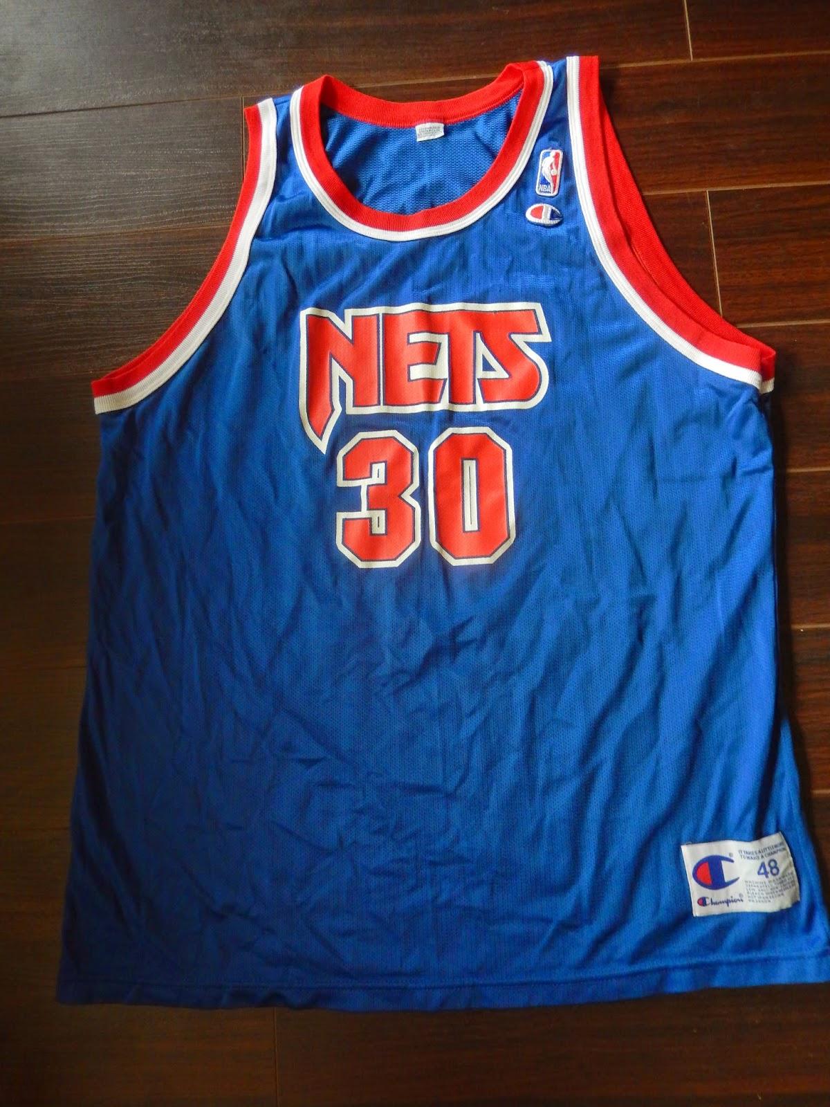 Vintage Kerry Kittles Champion New Jersey Nets Jersey 48 Mens XL e7ec0add4