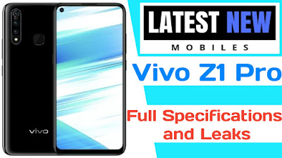 Vivo Z1 Pro full specifications