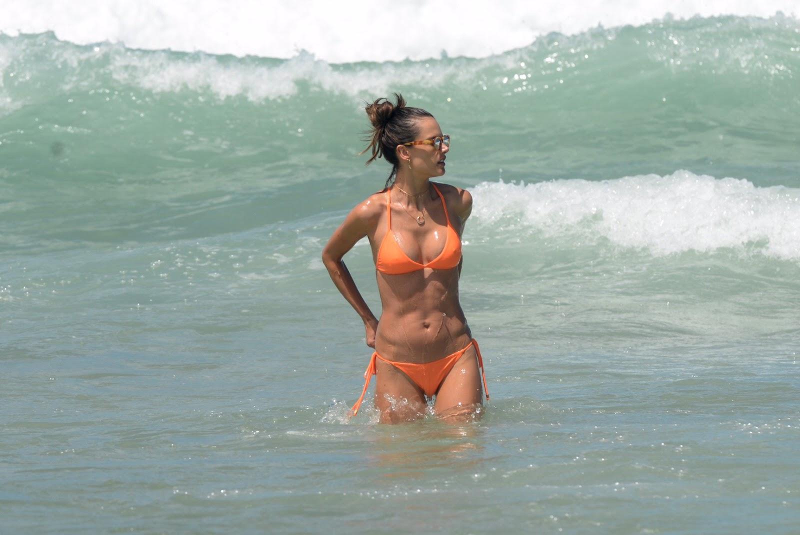 Alessandra Ambrosio in Bikini 2017