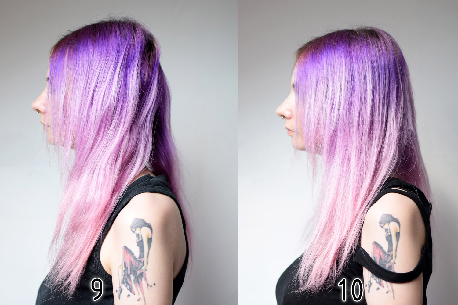 tag astuces cheveux coloration coloration semi permanente coloration vegan conseils dure electric lava galaxy hair hair manic panic new rose - Coloration Semi Permanente Bleu