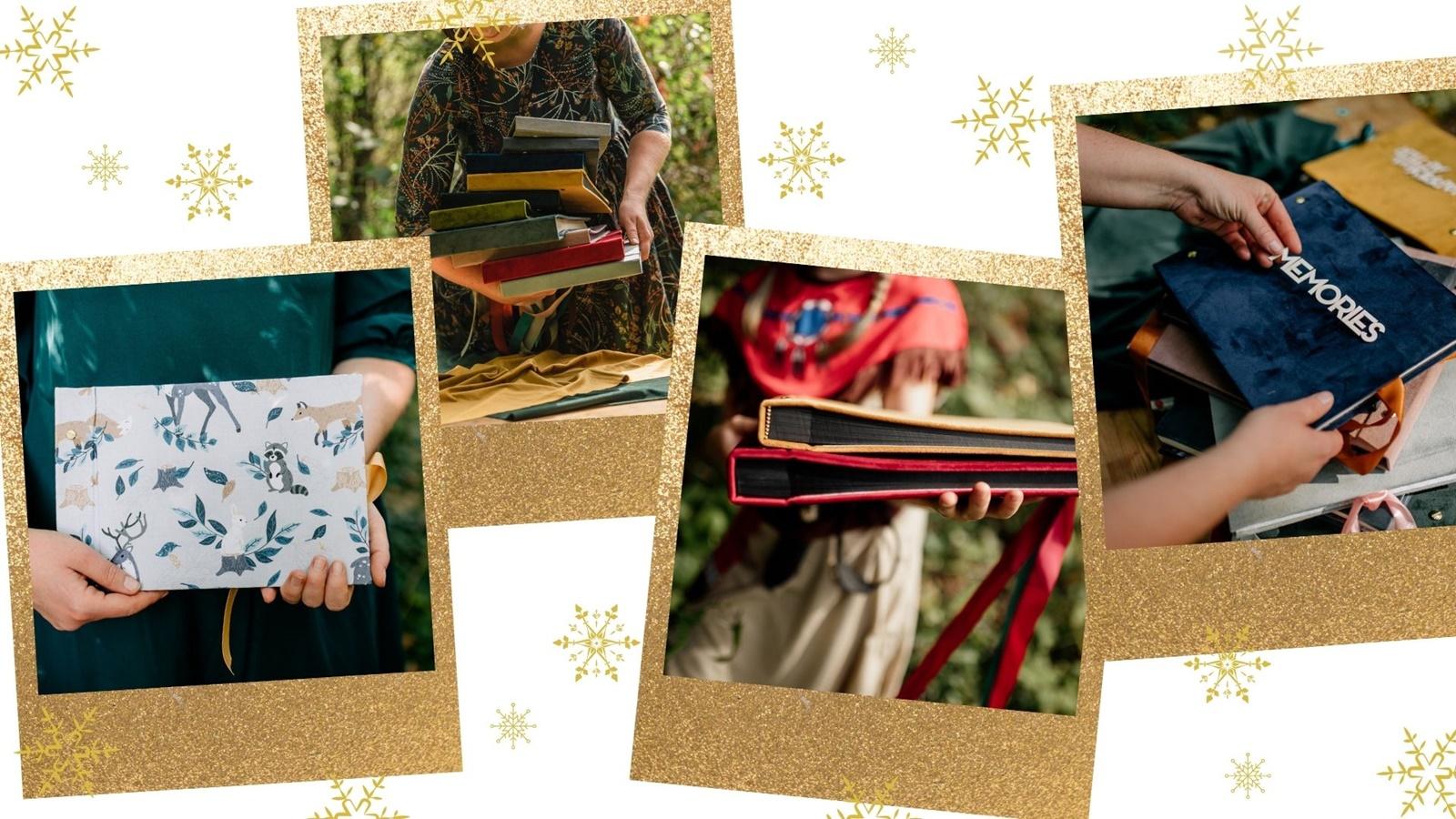 pomysł na prezent album na fotografie polaroid co kupic dziewczynie mamie tacie na swieta prezentownik rękodzieło nietyowe prezenty na boze narodzenie