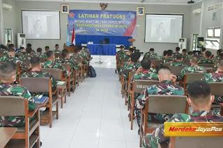 Sebelum Berangkat Peserta Latpratugas MTF Garuda XXVIII-M Unifil Lebanon Diberi Pembekalan  Asops Panglima TNI