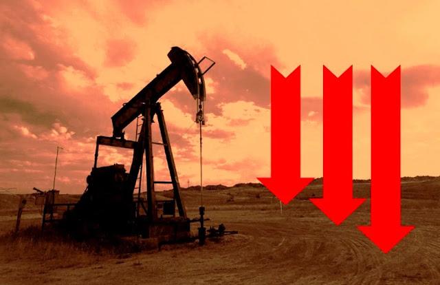 إنهيار أسعار النفط الأمريكي , لماذا انهار سعر برميل النفط الخام الأمريكي