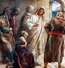 Resultado de imagem para imagens Senhor, filho de Davi, tem piedade de mim: minha filha está cruelmente atormentada por um demônio!