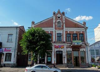 Дубно. Застройка центра города