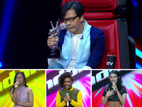 Blind Audition The Voice Indonesia GTV