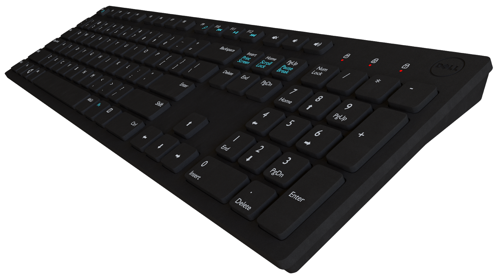 Free 3D Dell KB216 Keyboard CC0 3DS - Free 3D Models Under Public Domain