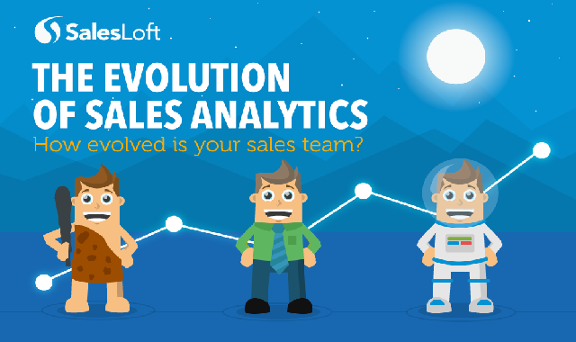 The Evolution of Sales Analytics #infographic