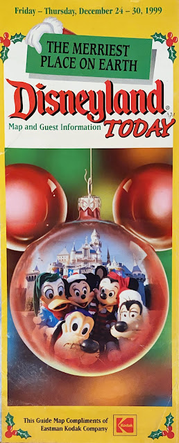 December 24 30 1999 Disneyland Map Cover