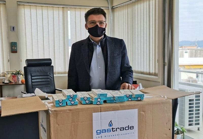Δωρεά 500 γρήγορων τεστ ανίχνευσης κορωνοϊού στην Π.Ε. Έβρου από την Gastrade Α.Ε.