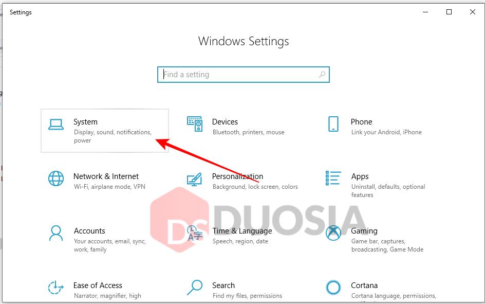 Mengetahui Versi Windows 10 yang dipakai Melalui Settings