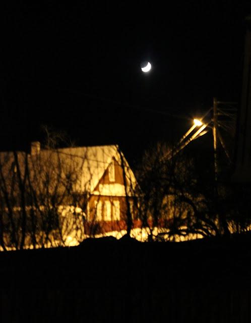 ночь, улица, фонарь