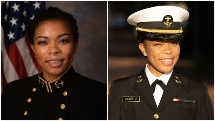 Sydney Barber Becomes 1st Black Female Commader at US Naval Academy