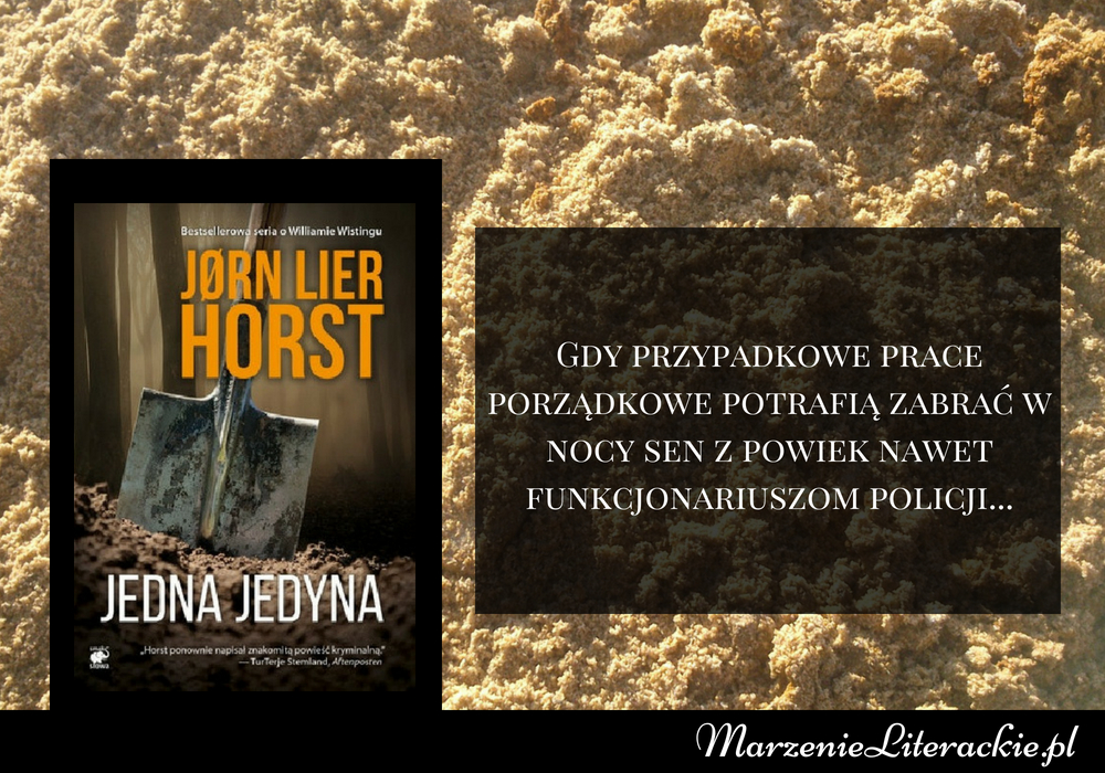 Jørn Lier Horst - Jedna jedyna | Gdy przypadkowe prace porządkowe potrafią zabrać w nocy sen z powiek nawet funkcjonariuszom policji...
