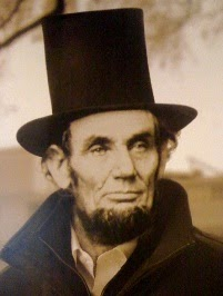 Abraham Lincoln with Hat