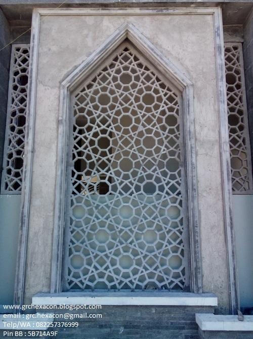 GRC HEXACON INDONESIA ornamen GRC dan roster beton Panel