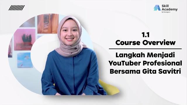 Langkah Menjadi YouTuber Profesional Bersama Gita Savitri