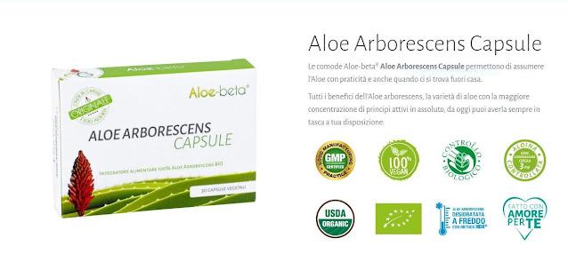 Cellule tumorali e l'Aloe Arborescens