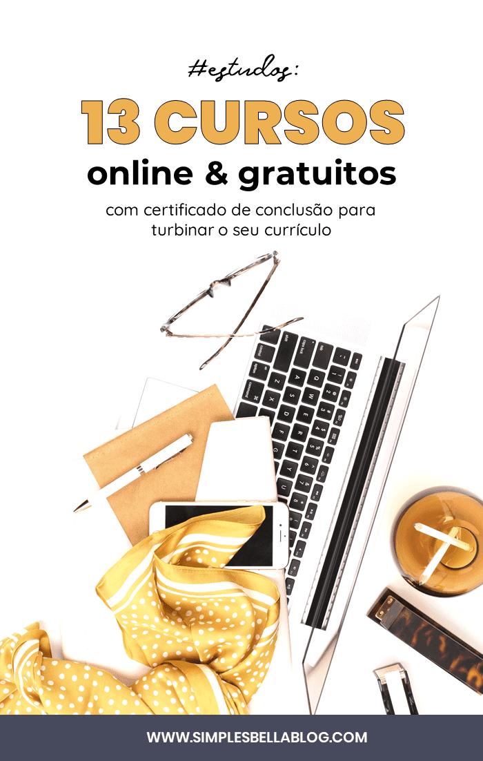 13 cursos online gratuitos para turbinar seu currículo: administração, educação, design e informática