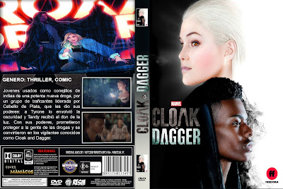 CARATULA CLOAK AND DAGGER-TEMPORADA 1- 2018 [COVER-DVD]