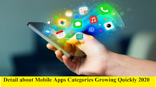 Mobile Apps Categories Growing Quickly 2020