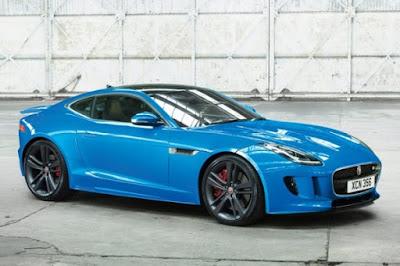 Jaguar models: F-TYPE British Design Edition Coupe