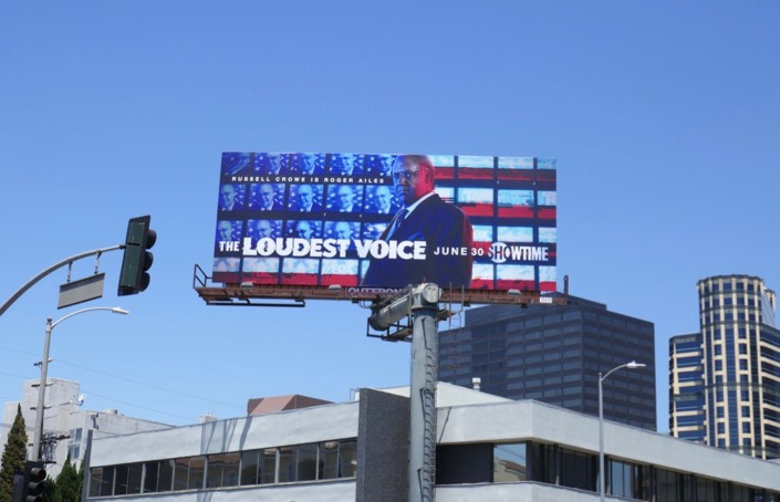 Loudest Voice series billboard